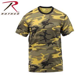 Rothco Colored Camo T-Shirts-