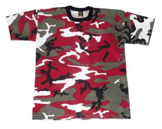 6006_Rothco Colored Camo T-Shirts-