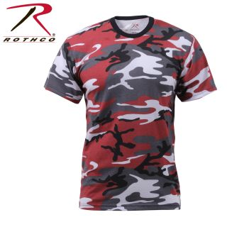 Rothco Colored Camo T-Shirts-Rothco