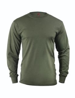 Rothco Long Sleeve Solid T-Shirt-Rothco