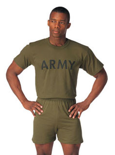 Rothco Olive Drab Military Physical Training T-Shirt-