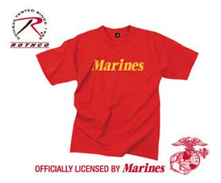 60163_Rothco Marines Printed T-Shirt-