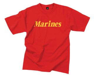 Rothco Marines Printed T-Shirt-