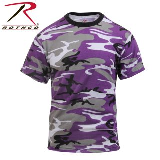 Rothco Colored Camo T-Shirts-