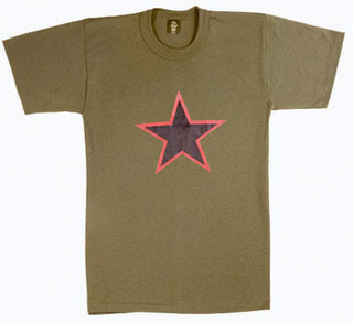 Rothco Red China Star T-Shirt-Rothco
