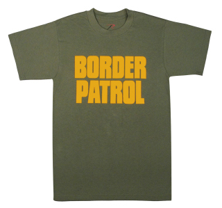 Rothco 2-Sided Border Patrol T-Shirt-Rothco