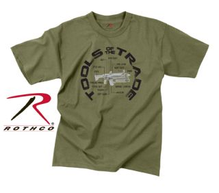 Rothco Vintage Tools Of The Trade T-Shirt-Rothco