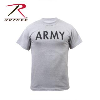 Rothco Grey Physical Training T-Shirt-