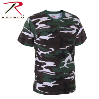 61080 Rothco T-Shirt / Concrete Jungle Camo