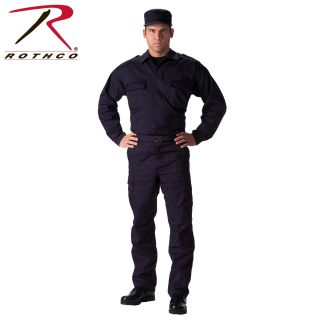 6111_Rothco Tactical 2 Pocket BDU (Battle Dress Uniform) Shirt-