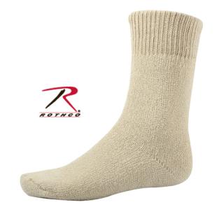 Khaki Thermal Boot Socks