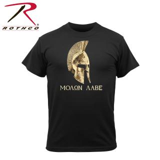61162 Rothco Molon Labe T-Shirt - Black