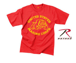 61164_Rothco Vintage U.S. Marine Bulldog T-Shirt-