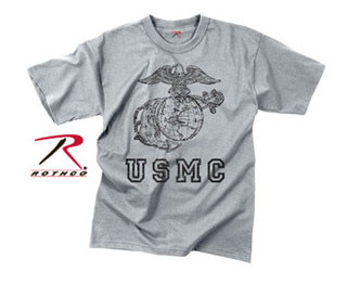 Rothco Vintage USMC Globe & Anchor T-Shirt-