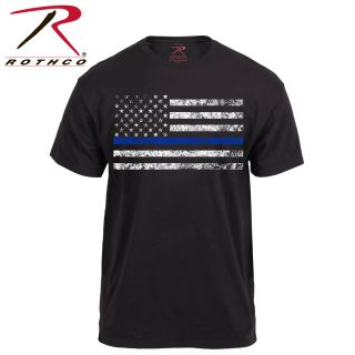 Rothco Thin Blue Line T-Shirt-