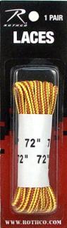 "Rothco 72"" Tan Nylon Work Boot Laces-"