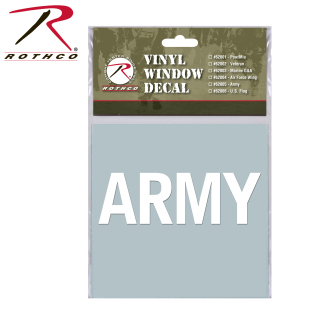 Rothco Military Vinyl Window Decal-