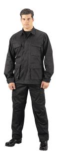 6210_Rothco Rip-Stop SWAT Cloth BDU Shirt (65% Poly / 35% Cotton)-