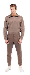 6248 6248 GI Brown Extreme Cold Weather Polypropylene Underwear Bottoms