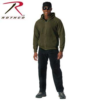 Rothco Thermal Lined Hooded Sweatshirt-Rothco