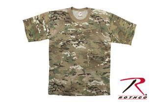 Rothco Multicam T-Shirt-Rothco