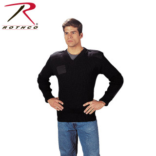 Rothco G.I. Type Wool V-Neck Sweater-