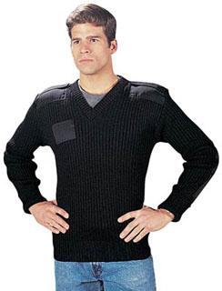 6344_Rothco G.I. Type Wool V-Neck Sweater-