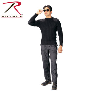Rothco Government Type Wool Commando Sweater-Rothco