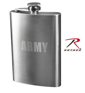 Rothco Engraved Stainless Steel Flasks-Rothco