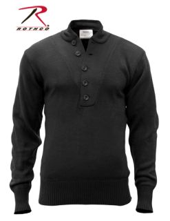 Rothco G.I. Style 5-Button Acrylic Sweater-Rothco