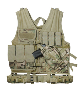 Rothco Cross Draw MOLLE Tactical Vest-