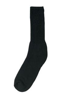 Black Athletic Crew Socks
