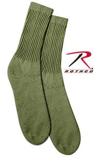 6479 Khaki Crew Sock