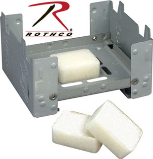 Two Position Pocket Stove-Rothco