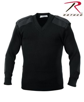6489 Rothco Acrylic V-Neck Sweater