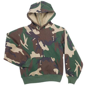 Rothco Kids Camo Pullover Hooded Sweatshirt-
