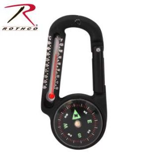 Rothco Carabiner Compass/Thermometer-