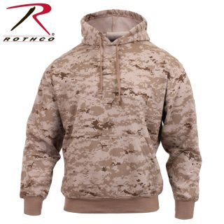 Rothco Camo Pullover Hooded Sweatshirt-