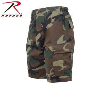Rothco Camo BDU Shorts-Rothco