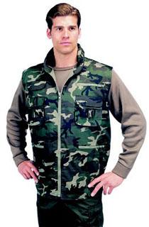 6555 Rothco ™ Camouflage Ranger Vest