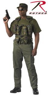 Camouflage Tactical Assault Vest