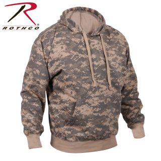 Rothco Camo Pullover Hooded Sweatshirt-