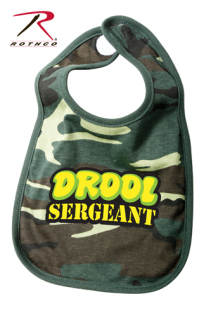 Rothco Drool Sergeant Infant Bib-