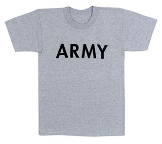 Rothco Kids Army Physical Training T-Shirt-Rothco