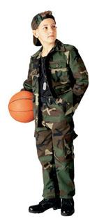 66102_Rothco Kids Woodland Camo BDU Shirt-Rothco