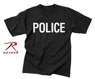Rothco 2-Sided Police T-Shirt-