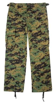 Rothco Kids Digital Camo BDU Pants-