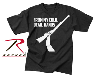 "Rothco Vintage ""From My Cold Dead Hands"" T-Shirt-"
