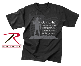 Rothco Vintage Its Our Right T-Shirt-Rothco