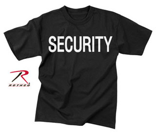 Rothco 2-Sided Security T-Shirt-